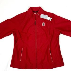 Women's Cutter & Buck full zip Indiana jacket!